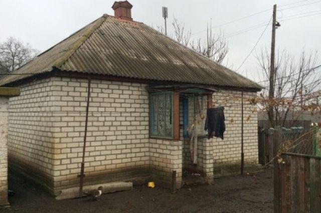 Дом, где случился пожар