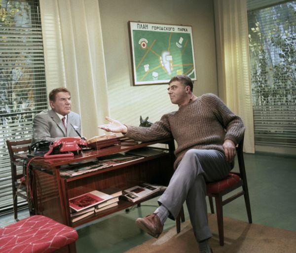 1969 год. Владимир Этуш в художественном фильме «Старый знакомый» киностудии «Мосфильм».