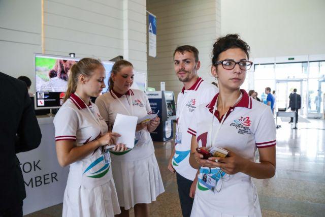 Приморские волонтёры показали класс на Восточном экономическом форуме