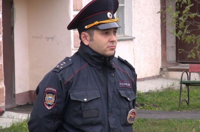 Свердловский полицейский учавствует воВсероссийском конкурсе «Народный участковый»