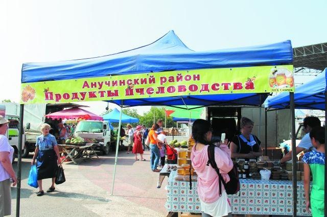 Приморский мёд популярен везде