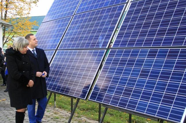 Солнечная мини-электростанция