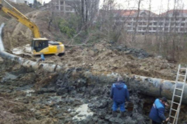 Из-за трагедии наводоводе без воды остались 9 кубанских населенных пунктов
