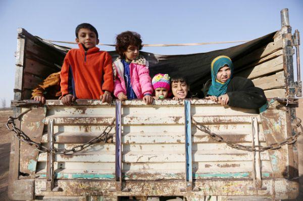 Иракские беженцы.