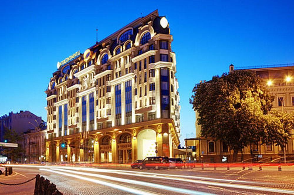 Замыкает первую пятерку InterContinental Kiev по адресу ул. Большая Житомирская 2А