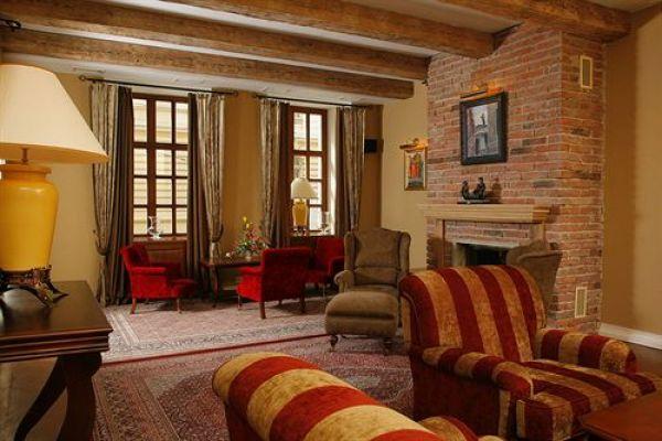 Приятный и уютный интерьер львовского отеля Hotel Leopolis