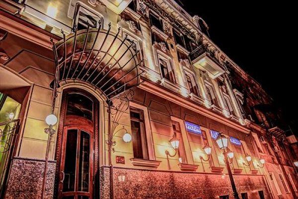 Одесский отель Duke Hotel находится по адресу пер. Чайковского 10