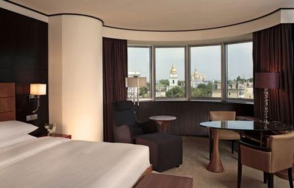 Вот один из номеров Hyatt Regency Kiev