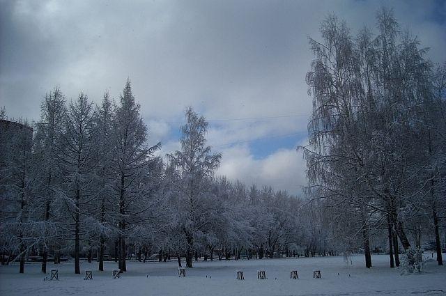 МЧС Пермского края предупреждает граждан оснегопадах игололедице