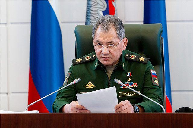 Шойгу: РФвынуждена принимать меры вответ нанаращивание наступательного потенциала НАТО