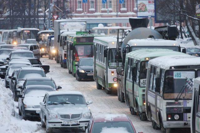 МЧС: вНижегородской области предполагается снегопад игололед