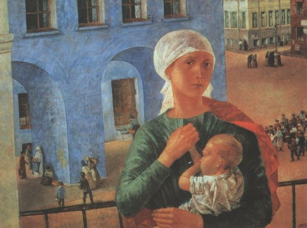 «1918 год в Петрограде» («Петроградская мадонна»), 1920.