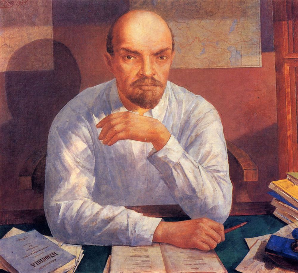 «Портрет В. И. Ленина», 1934.