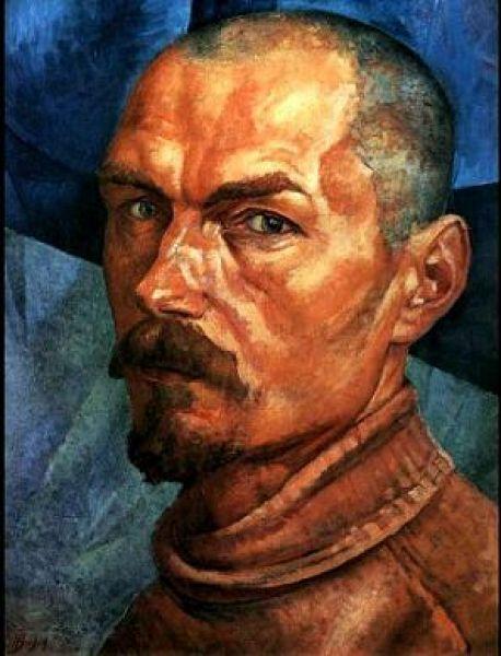 Петров-Водкин, Автопортрет, 1918.