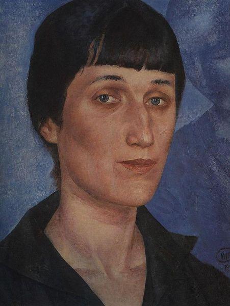 «Портрет Анны Ахматовой», 1922 год. Один из самых знаменитых портретов великой поэтессы.