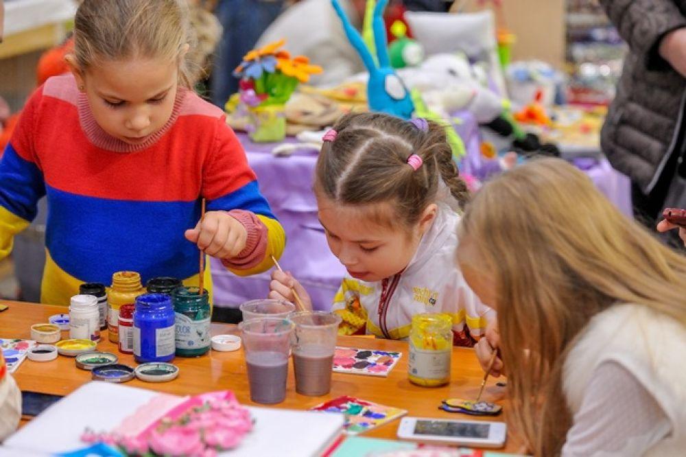 Дайте детям краски в руки!