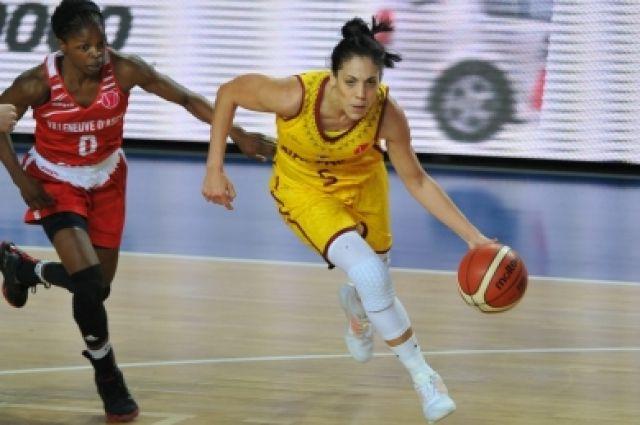 ВОренбурге баскетболистки «Надежды» обыграли француженок