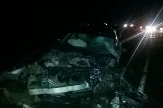 При столкновении машин под Ставрополем умер человек