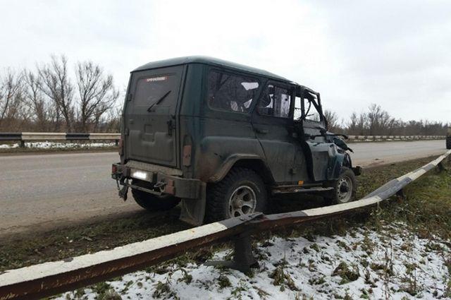 ВРяжском районе нетрезвый шофёр на«УАЗе» улетел вкювет