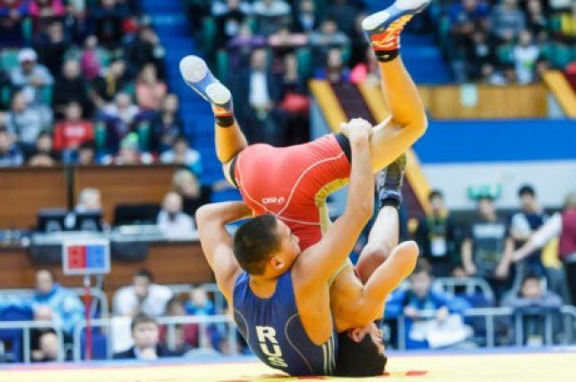 Вольная борьба в Кузбассе - очень популярный спорт.