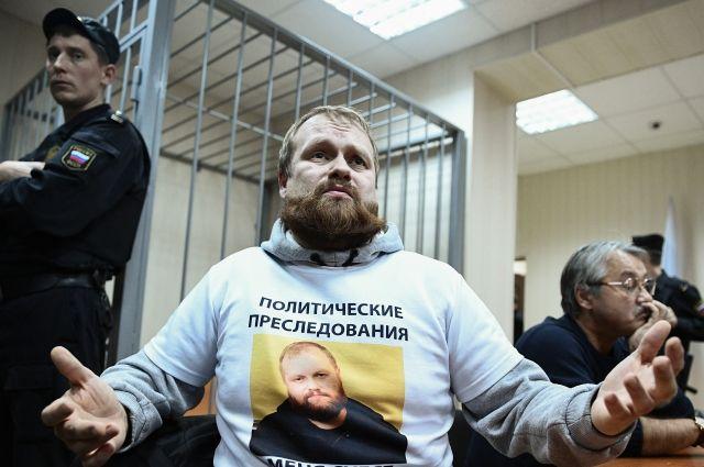 На «Русском марше» в столицеРФ начались задержания