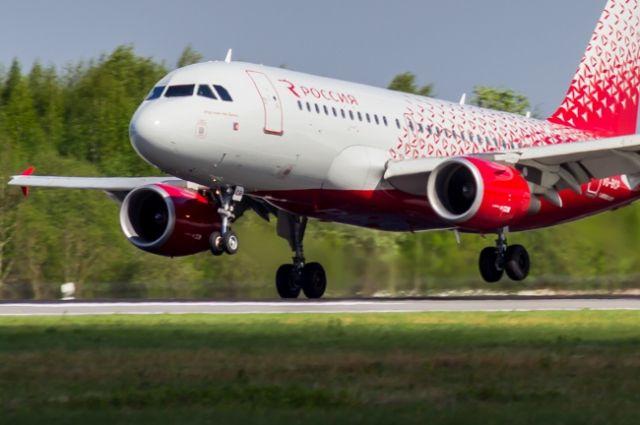 Самолет наКипр совершил вынужденную посадку вРостове-на-Дону