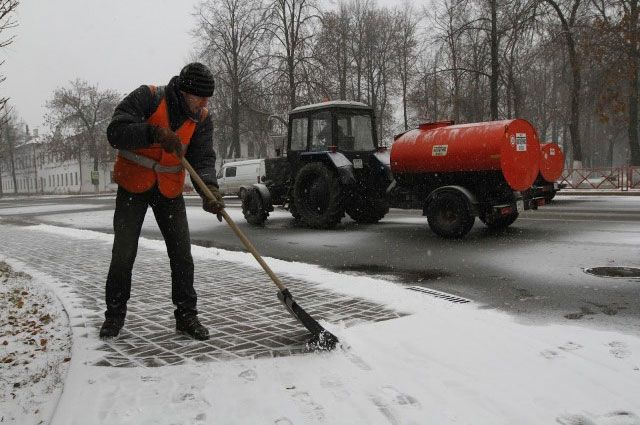 Подрядчикам доверено задействовать вуборке Ярославля больше снегоуборочной техники