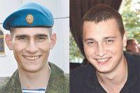 Алексей Юрин (слева) и Александр Ефремов дружили и вместе ушли добровольцами в Донбасс.