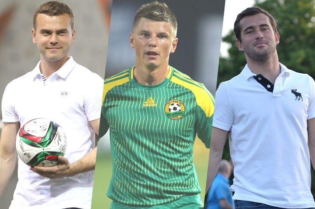 Игорь Акинфеев, Андрей Аршиван и Александр Кержаков.