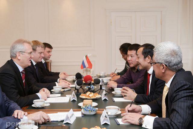 Иван Белозерцев выразил готовность оказать содействие в реализации проекта.