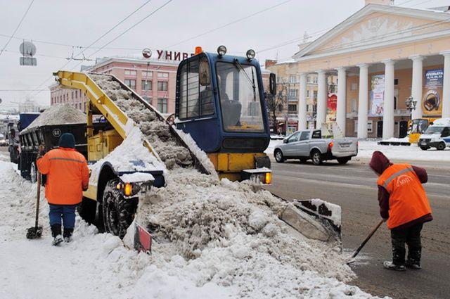ВНижнем Новгороде готовятся кзатяжному снегопаду