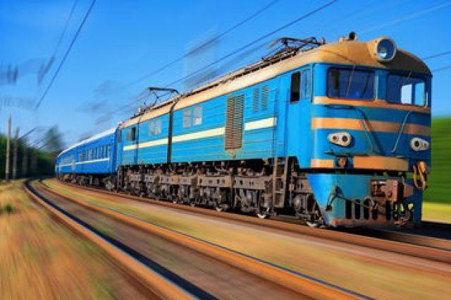 ВВолынской области загорелась кабина машиниста впоезде