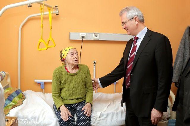 Губернатор пообщался с пациентами пензенских больниц.