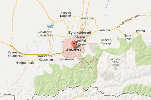 Изаэропорта Алматы эвакуировали людей из-за анонимного звонка
