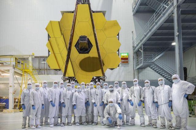 ВNASA завершена сборка самого большого космического телескопа