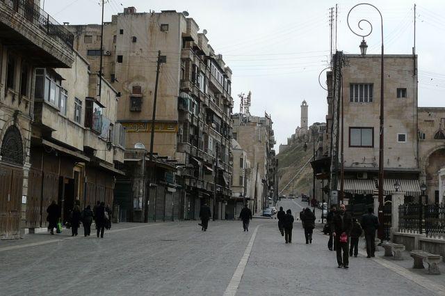 В Алеппо началась 10-часовая «гуманитарная пауза»