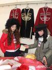 Представителей грузинской диаспоры было легко узнать издалека по бараньим шапкам и известной всем кепке-«аэродрому». Грузины тоже щедро делились национальными блюдами.