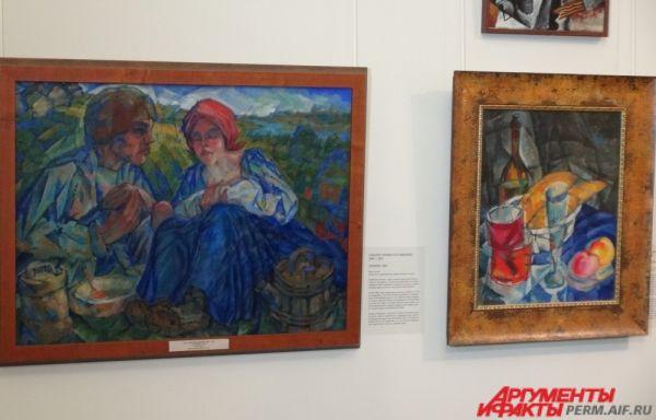 Картины художника Петра Субботина-Пермяка.