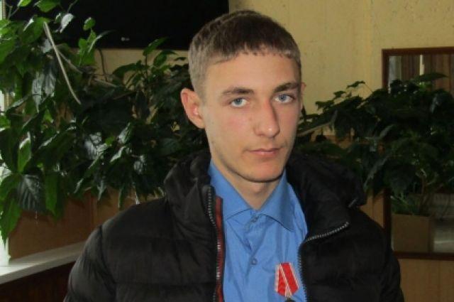 Сергею вручили медаль и денежную премию.