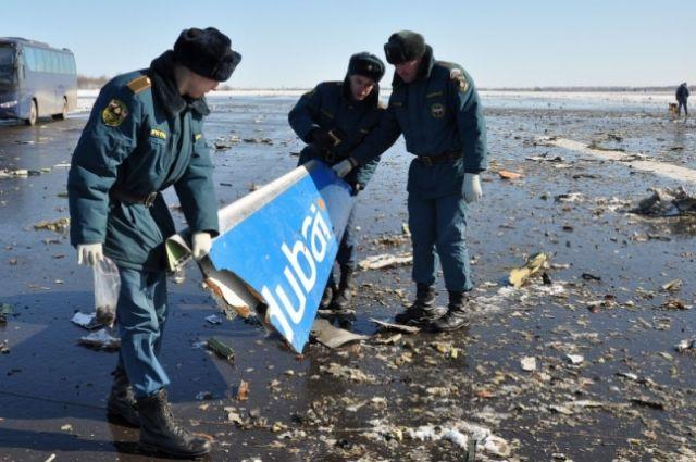 Минтранс наградил ликвидаторов последствий крушения Boeing вРостове-на-Дону