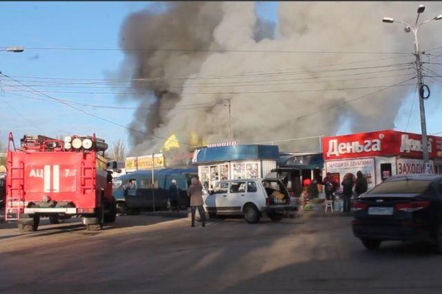 Наюге Волгограда зажегся рынок «Юбилейный»