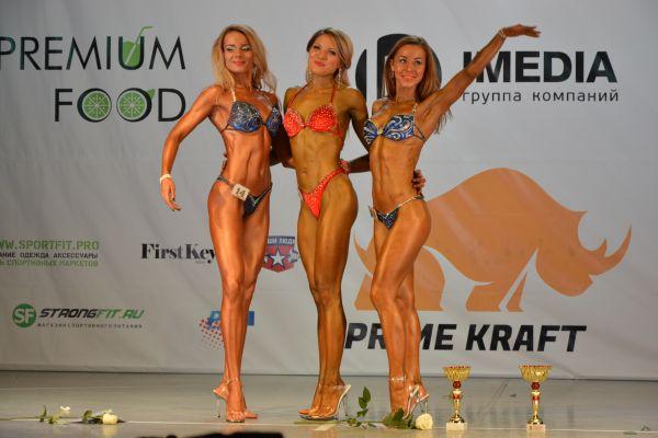 Три грации-победительницы.