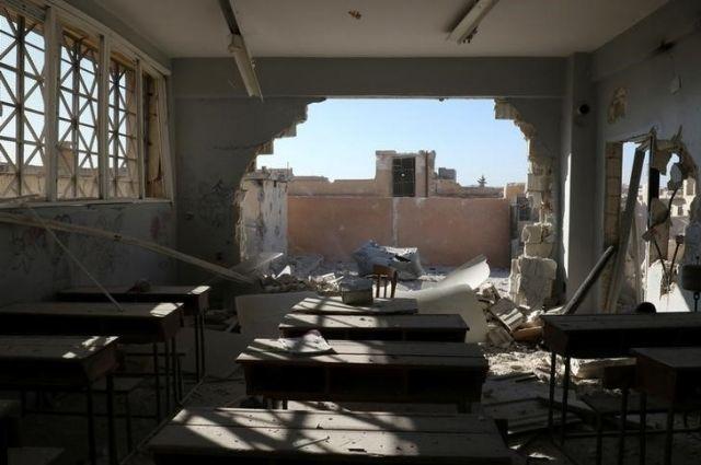 Минобороны назвало вбросом доклад Human Rights Watch обомбардировке школы вСирии