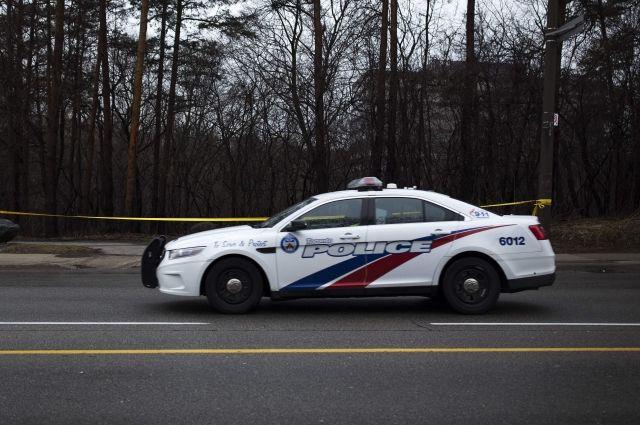 Автомобиль сбил группу велосипедистов вКанаде