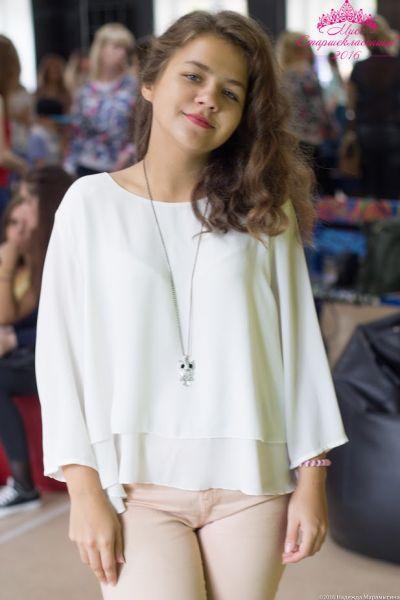 Анна Брылунова, школа №61, 17 лет.