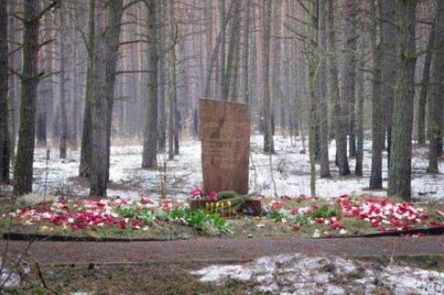 Поклонный крест наместе захоронения жертв репрессий срубили вКурске