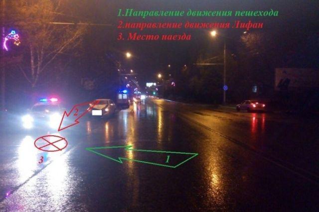 ВСтаврополе шофёр иномарки насмерть сбил пенсионерку