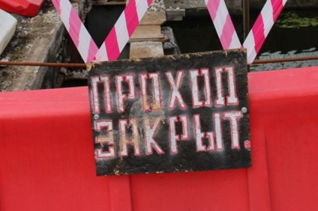 В ночь на вторник в Калининграде разведут пешеходный мост у Рыбной деревни.