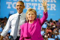 Барак Обама и Хилари Клинтон.