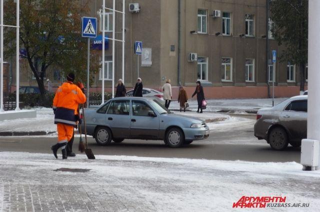 Октябрь текущего года стал самым снежным в Кузбассе с 1976 года.